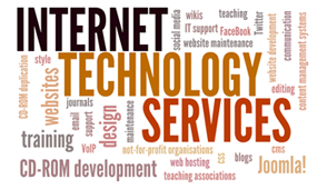 Internet Technology Services - website design by Peter Batchelor