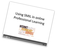 using smil in online professional learning